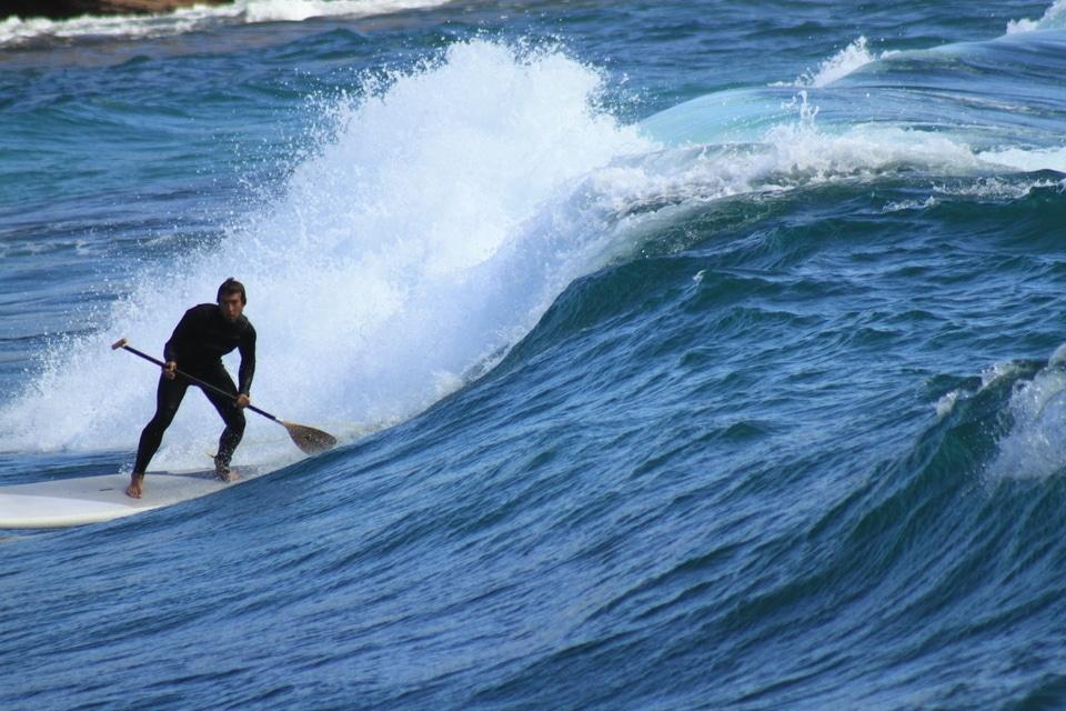 SUP, Surf session printanière