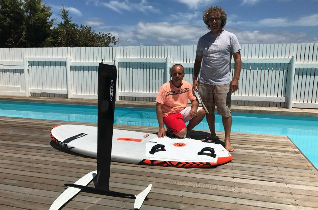RRD claque son windsurf foil