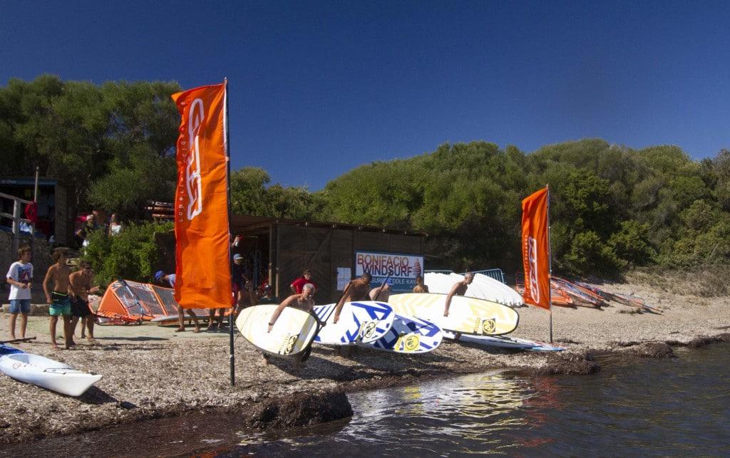 Course de paddle Bonifacio Windsurf