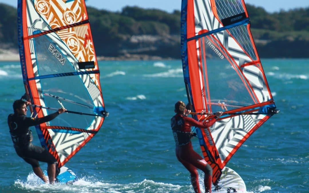 Windsurf à la toussaint en Corse
