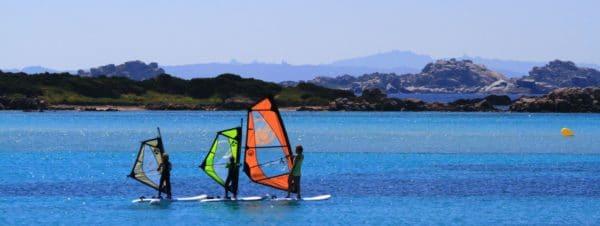 planche à voile en Corse