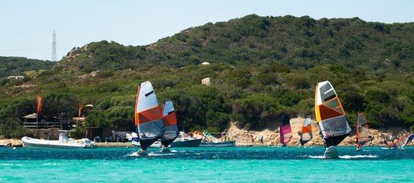 Windsurf à Piantarella