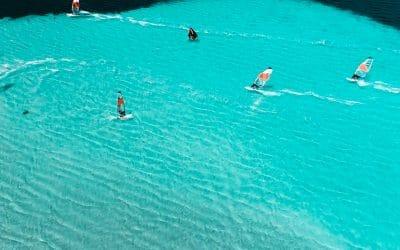 La meilleure période pour venir à Piantarella et au Club Bonifacio Windsurf !